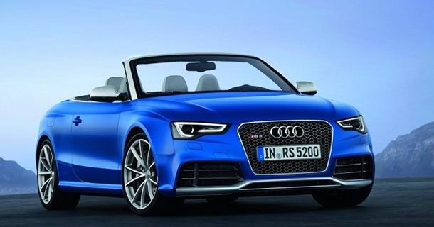 Audi viser den nye RS5 Cabriolet – Video