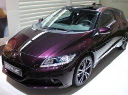 Faceliftede Honda CR-Z er også en hybridbil