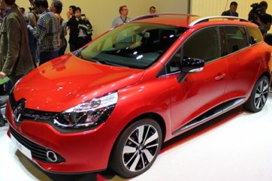 Den nye Renault Clio Stationcar eller såkaldte Sport Tourer