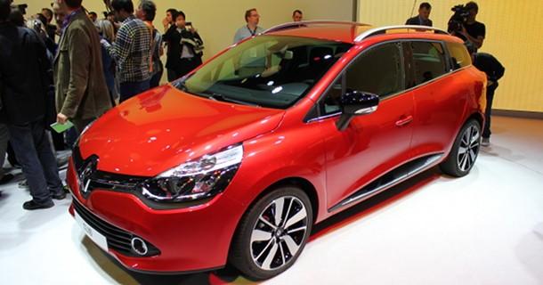 Premiere på Renault Clio hatchback & stationcar