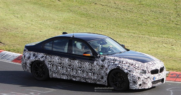 BMW tester den nye M3 – Video