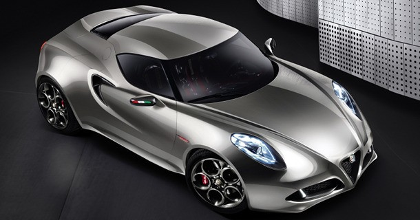 Produktionsklar Alfa Romeo 4C