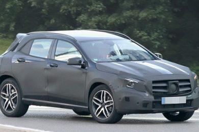 Mercedes GLA SUV spionbillede