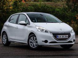 Peugeot 208 1.2 VTi står for 30 % salg i Danmark