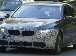 BMW 5-serie facelift på billede