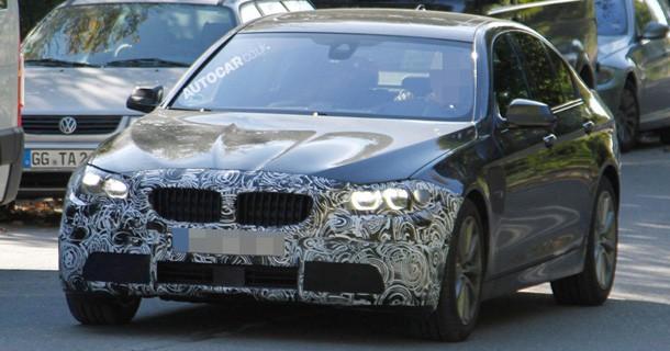 Spionbilleder af faceliftede BMW 5-serie