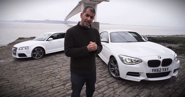 Chris Harris tester BMW M135i & Audi RS3 – Video