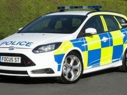 Sådan kan engelsk Ford Focus ST politibil se ud