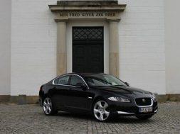Videotest af Jaguar XF med potent dieselmotor