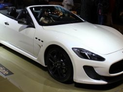 Maserati GranCabrio MC ved Paris Motor Show