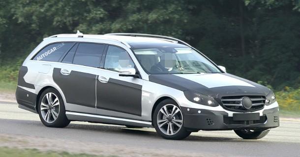 Facelift på vej til Mercedes E-klasse