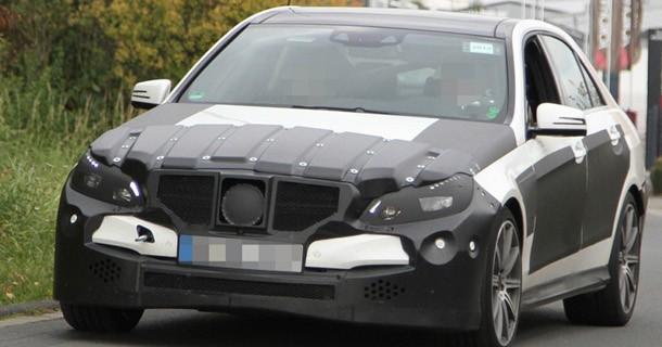 Faceliftet Mercedes E63 AMG klar til 2013