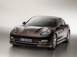 Porsche Panamera Platinum Edition nyhed