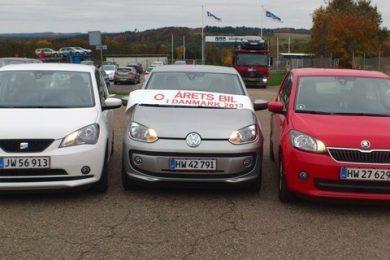 VW up, Mii og Citigo vinder Årets Bil i Danmark 2013