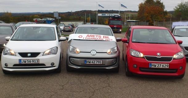 Trillinger vinder Årets Bil i Danmark 2013