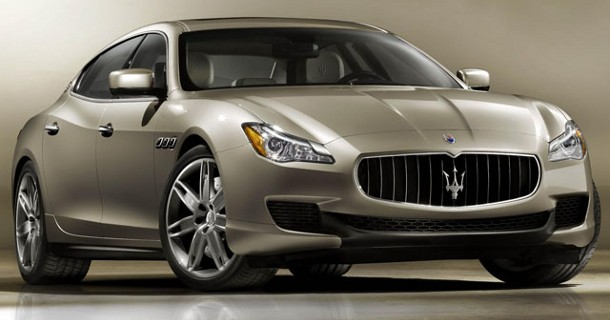 Her er den nye Maserati Quattroporte