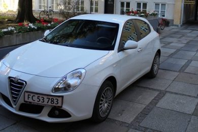 Alfa Romeo Giulietta 1.4TB 105 hk test