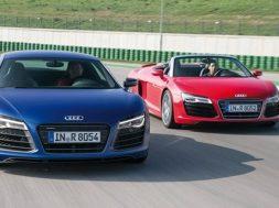 Audi R8 Spyder og Coupé