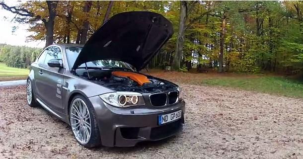 BMW 1 M med 600 heste!