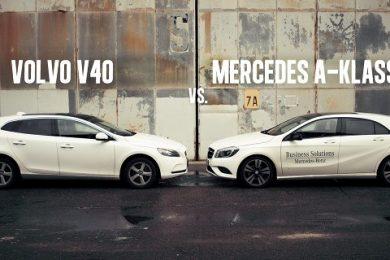 Mercedes A-klasse eller Volvo V40