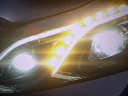 Mercedes E-klasse lygtedesign
