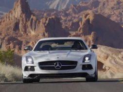 Billede fra Mercedes SLS AMG Black Series video