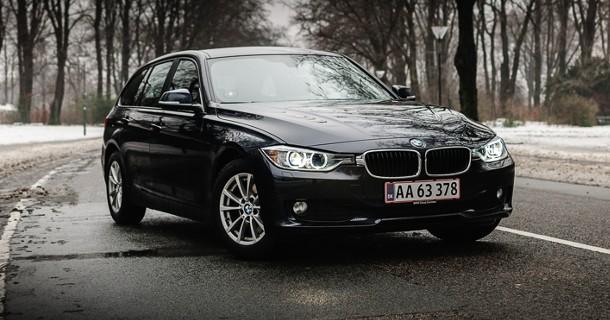 Kviktest: BMW 320d Touring
