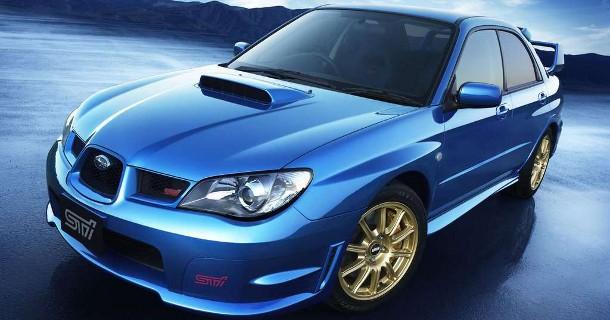 Farvel til Subaru Impreza