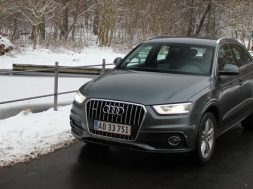 Audi Q3 test med 2.0 TDi og Quattro firehjulstræk