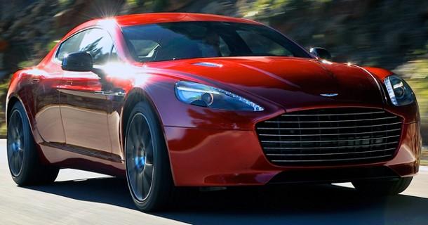 Aston Martin offentliggør Rapide S