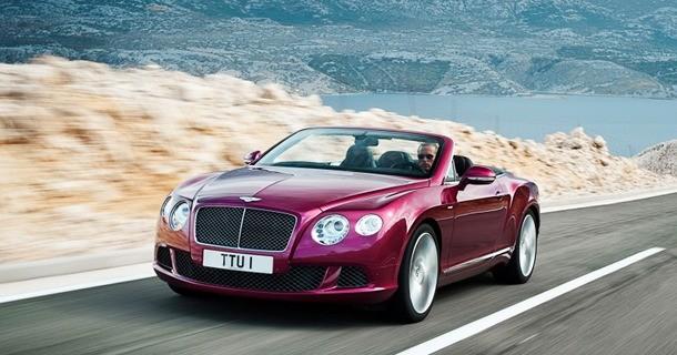 Bentley præsenterer deres hurtigste cabriolet