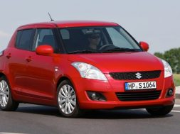 Tre millioner solgt af Suzuki Swift
