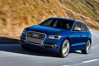 Audi SQ5 benzin detroit motor show
