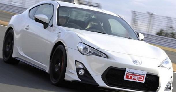 Toyota sender GT86 TRD på markedet