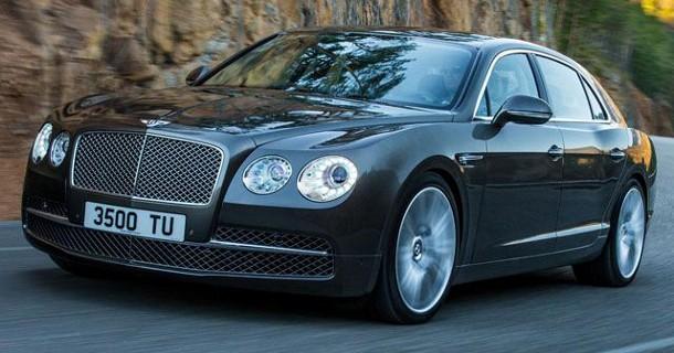 Officielle billeder af Bentley Continental Flying Spur