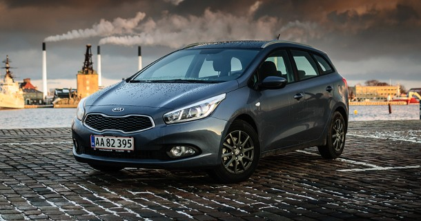 Test: KIA Cee'd SW 1.4 CVVT Active Plus