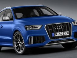 Audi Q3 RS model offentliggjort
