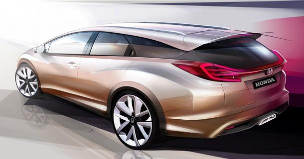 Honda Civic Stationcar & NSX koncept