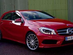 Mercedes A250 test med 211 hestekræfter
