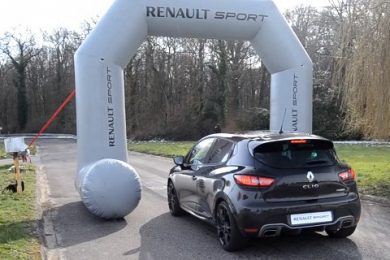 Renault Clio RS Launch control