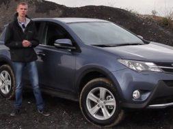 Ny Toyota RAV4 videotest