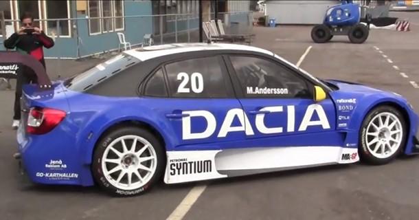 400 hestes Dacia…
