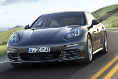 Facelifted Panamera 4S