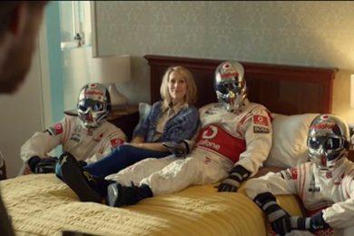 Formel 1 team i hjemmet