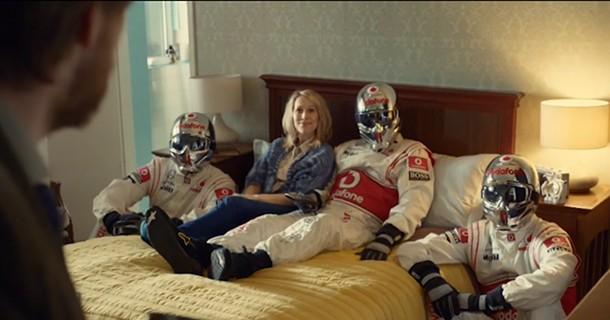 Når dit hus bliver HQ for Formel 1