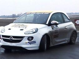 Opel Adam  Simon Larsen og Co-driver Ole Frederiksen