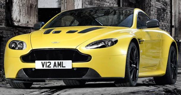 Aston Martin V12 Vantage S afsløret