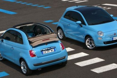Fiat 500 wind kampagne