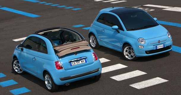 Hede sommerpriser på Fiat 500 Wind