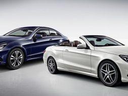 Mercedes E-klasse Coupe og Cabriolet